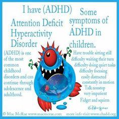 ADHD & symptoms of ADHD in children