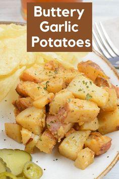 How to make Buttery Garlic Potatoes