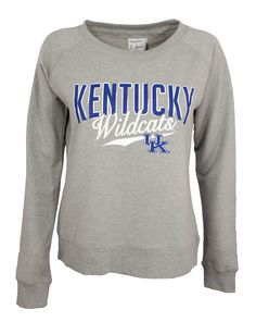 This cozy University of Kentucky fleece sweatshirt is sure to be your favorite for game-day or any day wear! The perfect lightweight fit for lounging, this super soft material will make you never want
