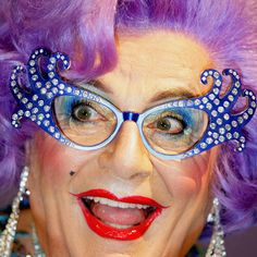 Dame Edna Everage - the style icon is finally retiring, and we're very sad to hear it. Farewell, possum.
