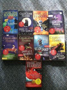 BOOK LOT - 9 Charlaine Harris Sookie Stackhouse Novels - NYT Bestseller Nyt Bestseller, Best Sellers, Novels, Books, Ebay, Libros, Book, Book Illustrations, Fiction