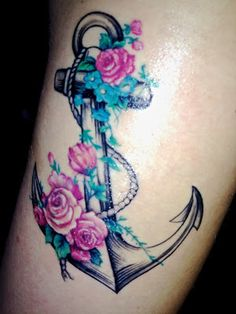 Tattoos Design For Men: Anchor Tattoo Designs