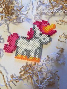 Cute unicorn perler bead