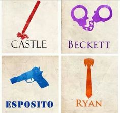 Castle/Beckett/Esposito/Ryan graphic
