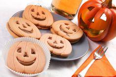 Ciasteczka-dynie dla dzieci na Halloween