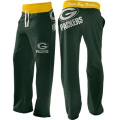 G-III Women's Green Bay Packers Green Recruit Boyfriend Pants - Dick's Sporting Goods