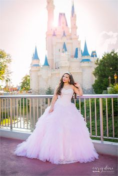 Isabella's Quinces Session in Magic Kingdom | Walt Disney World Photography