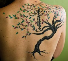 SC Moon Tree Number 5 – Tattoo