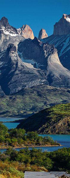 Torres del Paine National Park, Patagonia, Chile // For premium canvas prints & posters check us out at www.palaceprints.com