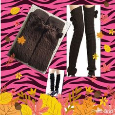 Selling this Dark brown winter long thick leg warmers in my Poshmark closet! My username is: judy_yen. #shopmycloset #poshmark #fashion #shopping #style #forsale #Accessories