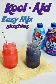 KOOL-Aid Easy Mix Slushies #PourMoreFun #ad @walmart