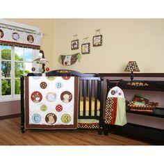 sumersault colorburst 12-piece crib bedding set (walmart $112.00