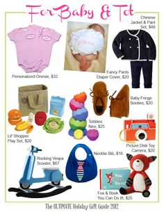 awesome gifts for baby! #baby #gifts #presents #toys #christmas