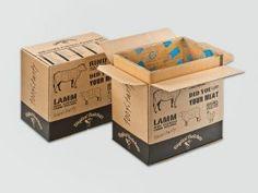 foodmailer® ECO für Online-Steaks. 1fg. Flexobedruckt zum Versand von Fleisch und Wurst aus dem Onlineshop.• #Dinkhauser #foodmailer #offset #packaging #karton #wellpappe #webshops #onlineshop #ecommerce #verpackungsdesign #nachhaltig #plasticfree #keinplastik #klimaneutral #recycling #lebensmittelversenden #gekühltversenden #Lebensmittelversand Shops, Steaks, Ecommerce, Recycling, Container, Food, Packaging Design, Meat, Foods