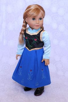 American Girl doll Anna outfit by Clarisse's Closet on eBay
