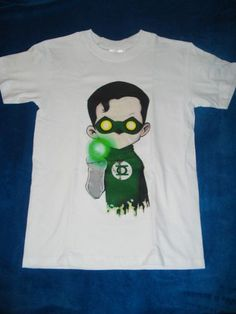 Playera Camiseta Linterna Verde Superhéroes Dc,marvel