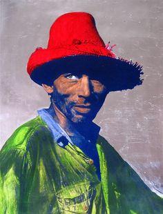 "Saatchi Online Artist: carlos mercado; Photograph, 2012, Mixed Media ""Maximo"""
