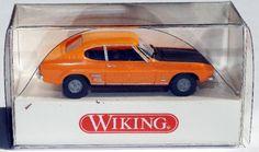 """821 05 25 Wiking Modellauto """"FORD CAPRI Mk.1"""" originalverpackt"""