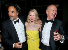 2015 - All The Photos You Need To See From The Golden Globes After-Parties - Alejandro González Iñárritu, Naomi Watts, Michael Keaton Golden Globes After Party, Michael Keaton, Naomi Watts, Team S, Hollywood, Celebs, Dance, Movies, Parties