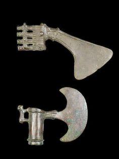 Bronze shaft-hole axes Circa 2nd-1st Millennium B.C.
