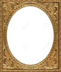 21076908-Oval-shaped-antique-gold-frame-mid-19th-century-Stock-Photo.jpg…