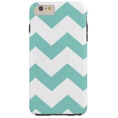 Chevron zigzag stripes. Case-Mate Tough iPhone 6 Plus Case