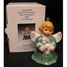 Goebel Annual Angel Bells 1998 Green