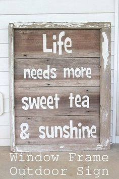 Sweet Tea and Sunshine Outdoor Art