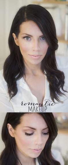 Subtle and understated- Romantic Pretty Makeup via Maskcara