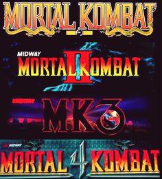 Mortal Kombat Arcade Marquees