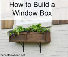 How to Build a Window Box 1