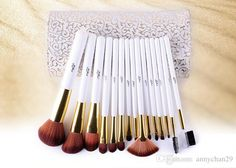 20% Off Msq Professional Makeup Brush Set With Pu Bag White Wooden Handle Dhl Free Wholesale Elaborate Make Up Brush Tools Permanent Makeup Airbrush Makeup From Annychan29, $14.08| Dhgate.Com