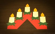 Askartelijan idealaari: joulukuuta 2013 Hobbies And Crafts, Crafts To Make, Crafts For Kids, Christmas 2016, Christmas Art, Advent, Holiday Festival, Girl Scouts, Birthday Candles