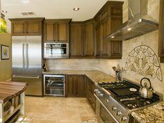 Kitchen Cabinets For 9 Foot Ceilings love the metallic backsplash! | kitchen | pinterest | kitchen