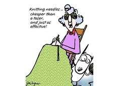 Maxine:  Knitting Needles... cheaper than a taser, and just as effective!