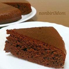 「HM×炊飯器deღ簡単ღチョコレートケーキღ」材料混ぜて後は炊飯器にお任せ♬誰でも出来るღ 簡単ღ チョコレートケーキღ です☺【楽天レシピ】