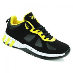 Stylish Suede and Lace-Up Design Sneakers For Men #jewelry, #women, #men, #hats, #watches