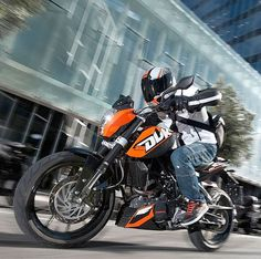 The KTM Duke 200 was launched a month ago in the Indian market. This motorcycle is expected to bring in 20% of KTM's global sales from India alone!