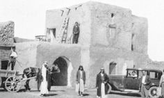 The House at Tel Brak, Syria, photographed during Christie's visit.