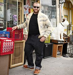 Fashion Tips For Big Men We answer reader questions