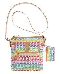Giani Bernini Handbag, Annabelle Signature Crossbody Bag - Handbags & Accessories - Macy's