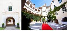 Hochzeit von Sonja und Frank im Schloss Ernegg Mansions, House Styles, Home Decor, Pictures, Getting Married, Decoration Home, Manor Houses, Room Decor, Villas