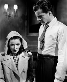 Gene Tierney & Dana Andrews in 'Laura' Hollywood Actor, Golden Age Of Hollywood, Vintage Hollywood, Classic Hollywood, Gene Tierney, Classic Actresses, Classic Movies, Laura Movie, Laura 1944