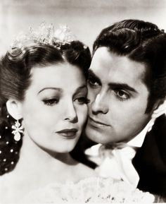 Loretta Young and Tyrone Power, 1930s