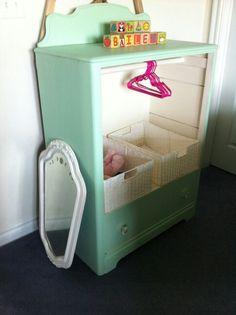 Junk Gypsy Paint, Landlocked Mermaid & Dreamcatcher. Diva closet for my granddaughter.