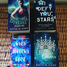 """Katie M John on Twitter: """"Twitter Flash Giveaway. Tell me in this thread which of these books of mine you'd most like to read and why and one random replier will get sent a signed copy by my book fairy. Winner chosen on Thursday. <3… https://t.co/GngX5FT9hQ"""""""