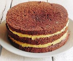 Black Forrest Cake with Ganache Frosting - Mom 'N Daughter Savings Sweet Recipes, Cake Recipes, Dessert Recipes, Cake Cookies, Cupcake Cakes, Bithday Cake, Ganache Frosting, Romanian Food, No Cook Desserts