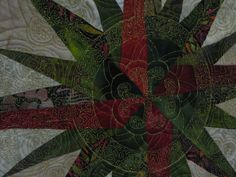 "Quilting detail ""Filigree"" by Marilyn Badger"
