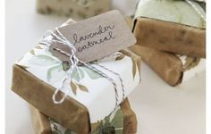 handmade soap favour