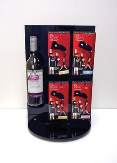 Sharn Enterprises, Inc | POP Display | Wine | POS Display | Acrylic Display | Creative Design | Made in the USA | The Wine Steward | Wine Designs | Wine Accessories